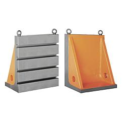 Angle plates with or without T-slots cast iron