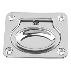 Recessed handles fold-down stainless steel, Form B