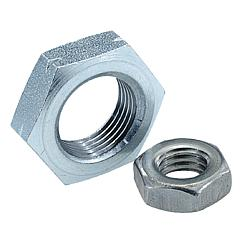 Hexagon nuts thinDIN 439
