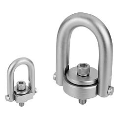 Hoist ring with Envirolox® coating