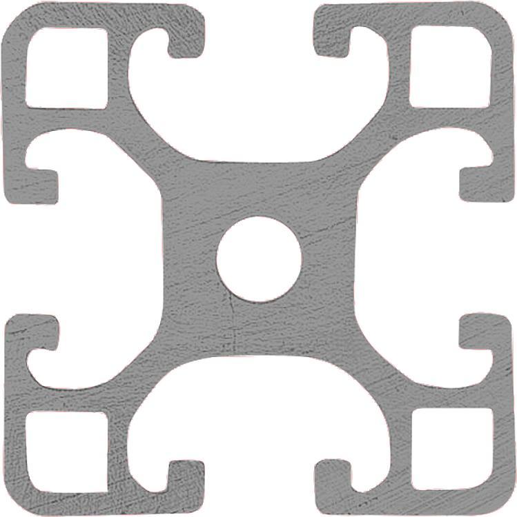 Aluminium profiles 40x40 light Type I | norelem