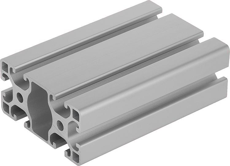 Norelem perfiles de aluminio 40x80 ligeros tipo i - Tipos de perfiles de aluminio ...