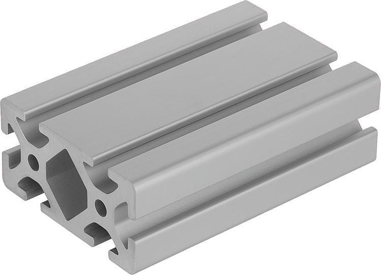 Norelem perfiles de aluminio 40x80 tipo i - Tipos de perfiles de aluminio ...
