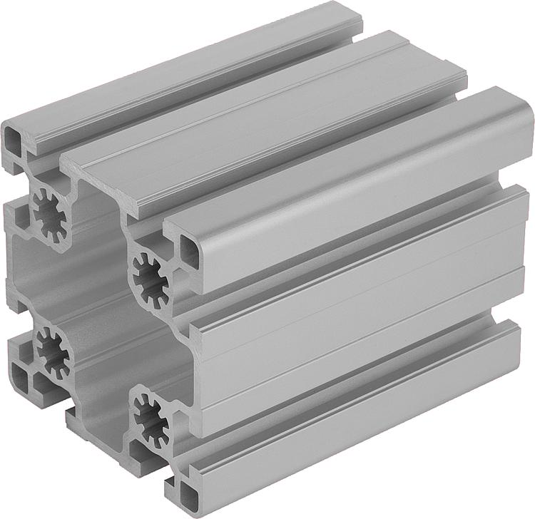 Norelem perfiles de aluminio 90x90 ligeros tipo b - Tipos de perfiles de aluminio ...