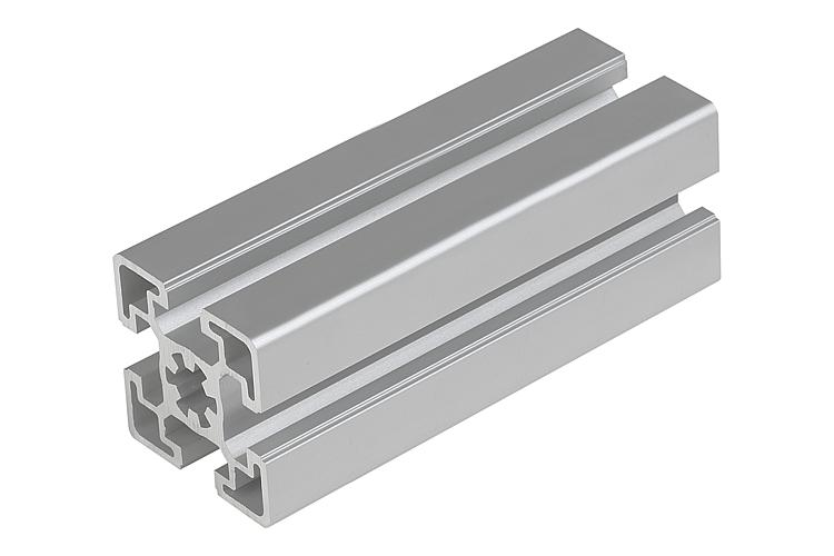 Norelem perfiles de aluminio 45x45 tipo b for Colores de perfiles de aluminio