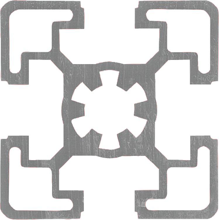 Norelem aluminium profiles 45x45 type b - Tipos de perfiles de aluminio ...