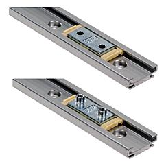 Low profile linear guide systems DryLin® N Carriage