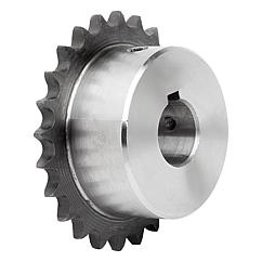 "Sprockets single 3/8"" x 7/32"" DIN ISO 606, ready to install"