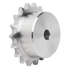 "Sprockets single 1/2"" x 5/16"" stainless steel DIN ISO 606"