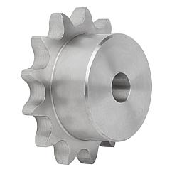 "Sprockets single 3/4"" x 7/16"" stainless steel DIN ISO 606"