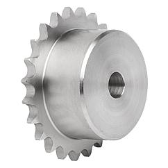 "Sprockets single 3/8"" x 7/32"" stainless steel DIN ISO 606"