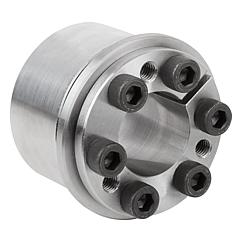 Keyless locking couplings Form C with axial ring