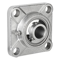 Pillow block bearing flange type MUCF stainless steel