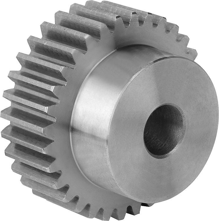 Modulo 0,75 in acciaio ingranaggio Frontale ingranaggio 12 Denti