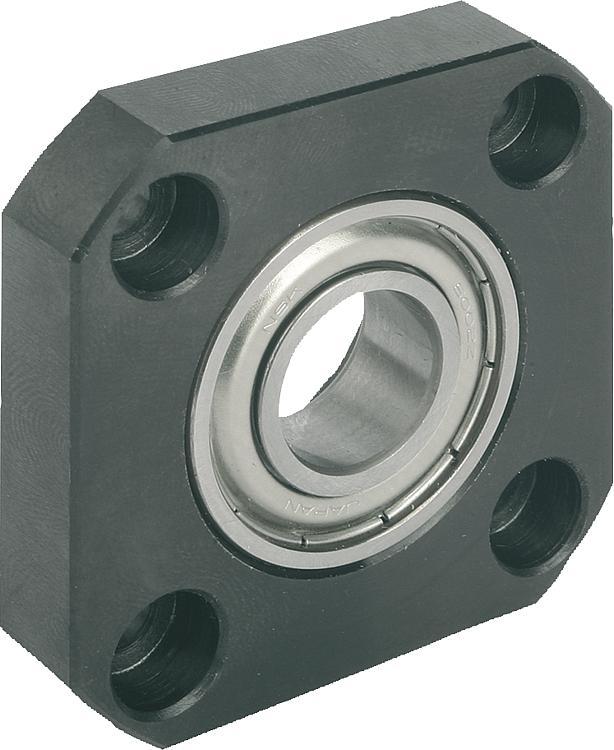 Norelem floating bearing units flange version for House bearing