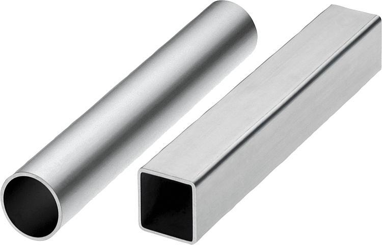 Norelem tubos redondos y tubos cuadrados - Tubo de aluminio ...