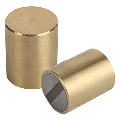 Magnets deep pot SmCo