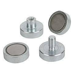 Norelem magneti magneti piatti in ndfeb for Calamita flessibile adesiva
