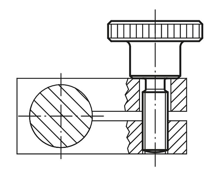 Fabricado en Alemania H10759 10 unidades Gedotec Acero galvanizado Tornillo de regulaci/ón para madera con manguito roscado M6 Soporte para m/áquina de 200 kg Longitud 31 mm