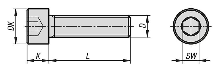 8 viti esagonali M8 x 45 mm con filettatura fino alla testa ISO 4017 viti esagonali completamente filettate in acciaio inox A2 V2A antiruggine. DIN 933