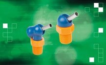 norelem has added compact high-pressure nozzles to its portfolio