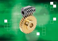 Only worm screws and worm wheels with the same centre distance or the same ratio can be combined to form a functioning worm drive