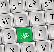 THE BIG GREEN BOOK Tastatur