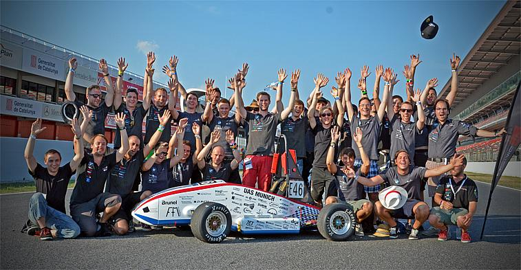 Team des Formula Racing Teams munichMotorsport 2014